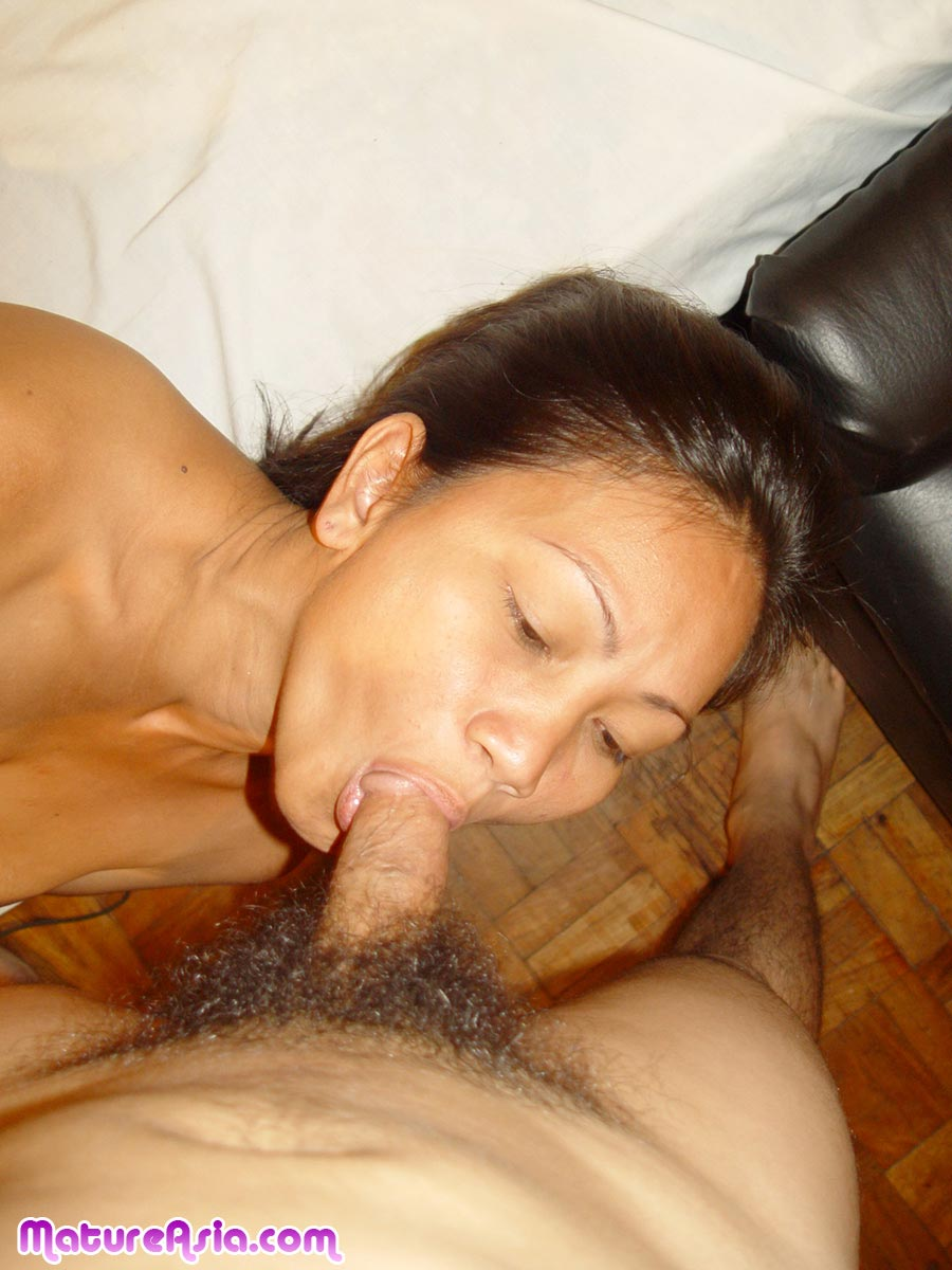 Asian mature suck