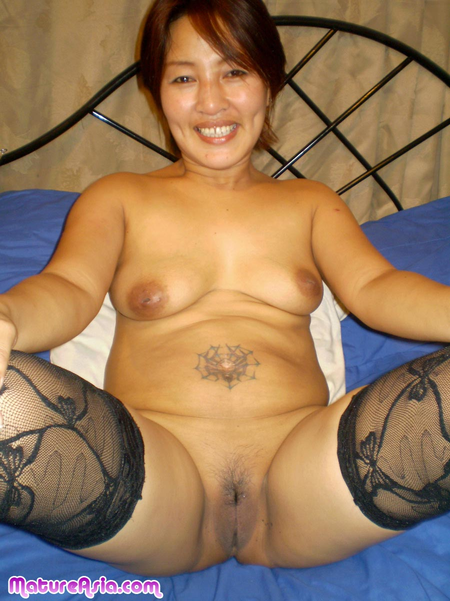 amateur cock sucking sweet asian mature spreading her tight mature
