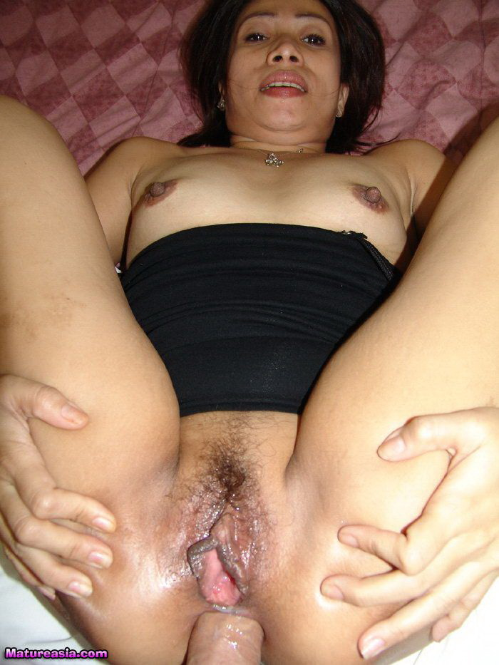 Double creampie pussy and ass