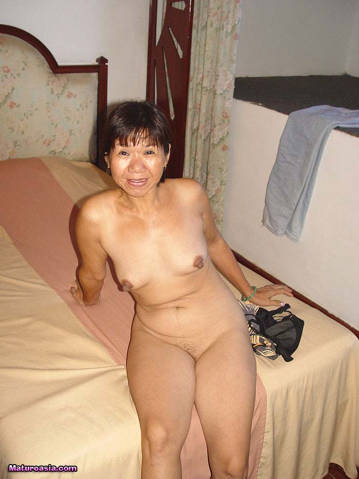 Mature older asian women nude