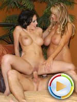 Mindy Main shares cock with a MILF