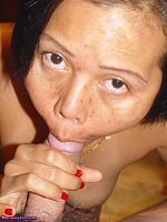 Oh Asian fucking and sucking a cock
