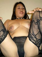 Nudist mature asian cums twice anal