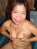 Petite old Asian toying and fucking