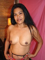 Mature Tok Asian cougar closeup hoe