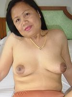 Ginna toying busty fat mature asian