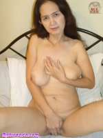 Old Asian granny naked showin pussy