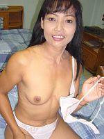 Older Asian wife toying and fucking