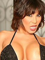Busty babe Ava Devine showing boobs