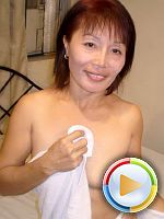 Sexy Asian mature blowjob then fuck