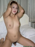Hot transsexual with hard firm tits